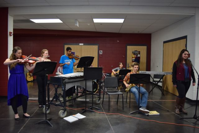 Jazz Band entertains