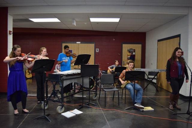Jazz Band entertains