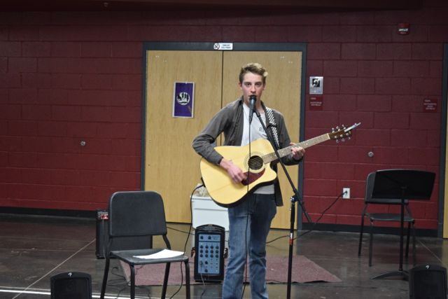 Spencer White performs
